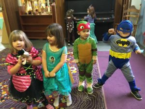 November 2016 Halloween Preschool Portland Oregon