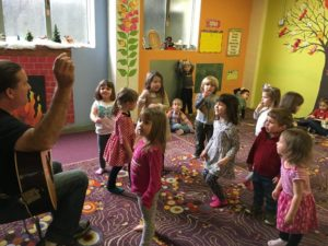 February - Tallulah's Daddy - Music Class
